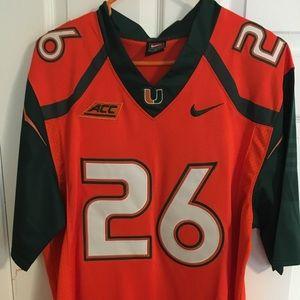 University of Miami jersey